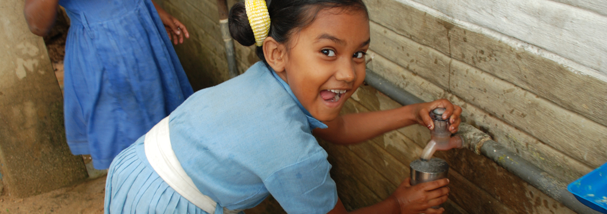 Acqua pulita in India
