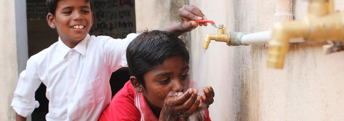 Acqua pulita per i bambini