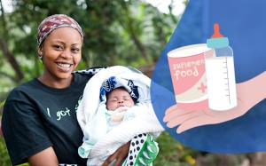 Integratori alimentari per mamme e neonat