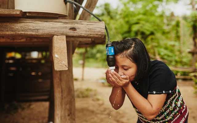 Distribuzione filtro acqua