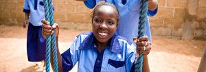 I bambini dei centri Compassion in Uganda