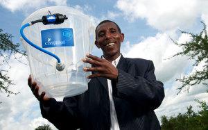 Distribuzione filtro dell'acqua