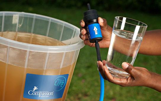 Filtro per depurazione acqua