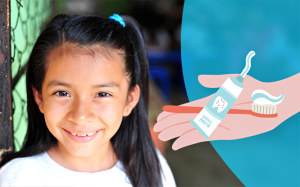 Igiene orale in Guatemala con i regali solidali di Compassion