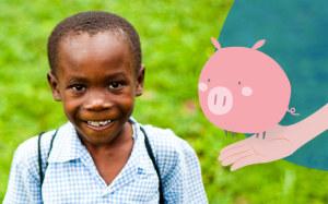 Maiale per bambini in Ruanda con i regali solidali di Compassion