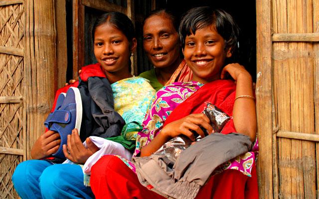 San Valentino - regali solidali Compassion Bangladesh